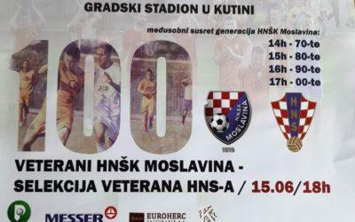 HNŠK Moslavina (Vet) – Hrvatska (Vet)